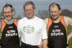 Helmut Meier, Jürgen Umann und Joachim Hickisch bei jedem Wettkampf dabei.