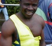 Sieger mit 10,37 sec. über 100m Abu Duah, BTS Bremen/Neustadt