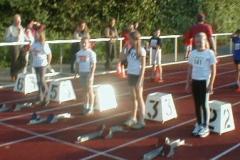 Start 50m Schülerinnen C Lauf 3