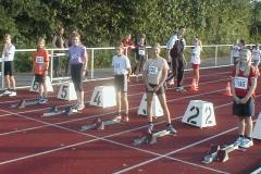 Start Schülerinnen C 50m Lauf 1