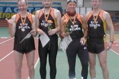 Die erfolgreichen Staffelläufer der LAV ZEVEN v.l.n.r.: Helmut Meier Joachim Hickisch Hans-Georg Müller Jürgen Umann