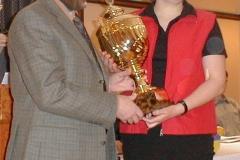 Den Pokal der Sparkasse Rotenburg-Bremervörde für 2001 gewann Catharina Mangels, TuS Alfstedt.