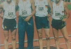 Am letzten Wettkampftag wurden die Staffeln ausgetragen. Helmut Meier lief als Startläufer der deutschen 4x400m Staffel M50. An 2. Stelle hinter England übergab er den Staffelstab. Nachdem die Italiener zwischenzeitlich auf den 2. Platz vorliefen, konnte der deutsche Schlussläufer Josef Muschinski mit einem tollen Schlussspurt wieder deutlich auf den 2. Platz vorlaufen. Damit gewann Helmut Meier zusammen mit Erich Kombrink, Josef Muschinski und Walter Busenbender die Silbermedaille.