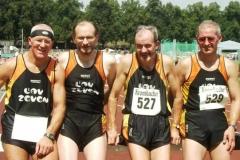 Foto: Das erfolgreiche Seniorenquartett von Schweinfurt, von links: H.G. Müller, Joachim Hickisch, Helmut Meier, Jürgen Umann