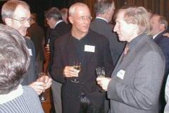 Links Helmut Meier, in der Mitte Hans-Georg Müller, der extra mit seiner Gattin aus Gifhorn angereist war und unser sportlicher Leiter der LAV Hans-Hermann Neblung