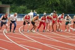 Zum Abschluss der 1500m Lauf