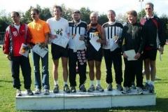 Landesmeisterschaften im Fünfkampf am 19.09.2004 Senioren M 40/45 Platz 2 in der Mannschaftswertung