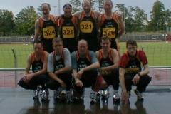 Zevener Teilnehmer an den Nordd. Meisterschaften 2004 in Berlin Es fehlt Michaela Detjen