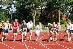 Start 1500m Senioren M 40/45