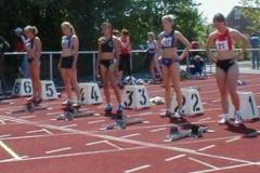 Endlauf 100m Hürden Frauen