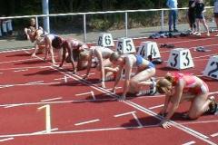 Start 100m Frauen