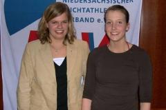 Catharina Mangels und Meike Lürßen