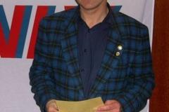 Jürgen Umann erhält die DLV-Gold Nadel