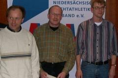 v.l.n.r.: Hans-Jürgen Harms, Thomas Zschiesche, Jens Dohrmann