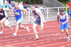 Start 100m 1. VL rechts Alexander Kosenkow