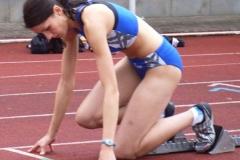 Jala Gangnus LG Nordheide, weibliche Jugend A, lief ausgezeichnete Zeiten über die 100 und 200m. Am 1. Tag über 100m im ZVL 11,59sec. Und am 2. Tag im ZVL 200m 23,97 sec.