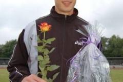 Rainer Schulze, LG Wilhelmshaven 200m 21,40 sec.