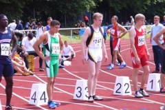 100m Vorlauf 100m Männer, Bahn 3 Timm Müller