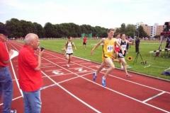 2. Zeitendlauf 800m männl. Jugend B Kenneth Gerschler Gesamtwertung 6. Platz