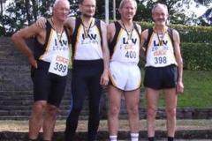 Insgesamt 6 Goldene 2006 für die Zevener M50/55 Aktiven