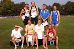Platz 1 - 8 Senioren M50 Einzelwertung