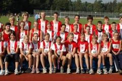 Kreisauswahl Schüler und Schülerinnen NLV Kreis Rotenburg am 17. September 2006 in Rotenburg/Wümme