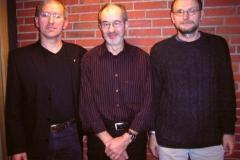 v.l.n.r.: Jürgen Umann, Helmut Meier (fünffacher Deutscher Meister 2006) und Joachim Hickisch.