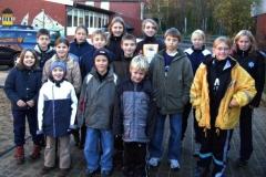 Einige der Zevener Aktiven nach dem erfolgreichen Crosslauf-Tag in Buxtehude.