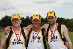 v.l.n.r.: Friedrich Müller, Hans Georg Müller, Joachim Hickisch