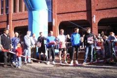 Siegerehrung Halbmarathon Männer