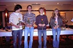 DLV Bronze für v.l.n.r. Dion Saß, Christian Hatwig, Helge Zabel, alle LAV Zeven Tahnee Tietjen, TSV Bremervörde, es fehlt Sarah Schlierkamp, TSV Bremervörde