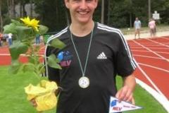 Christian Hatwig, der Landesmeister im 400m-Hürdenlauf bei der männlichen Jugend A und B