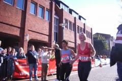 Siegerehrung Halbmarathon Frauen