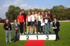 3. Platz für die M30/35 Mannschaft: Detlef Bredehöft, Rainer Dohrmann und Jens Dohrmann