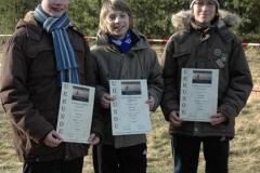 v.l.n.r.: Nils Michaelis, Moritz Will und Fabio Gerken