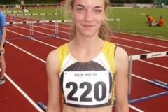 Tami Gerken, am letzten Wochende wurde sie Landesmeisterin über 2000m