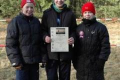 v.l.n.r. Ingrid Speerstra, Milena Peper und Lara Gerken
