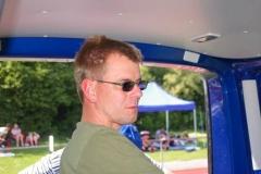Jens Dohrmann sorgte für eine reibungslose elektronische Zeitmessung.