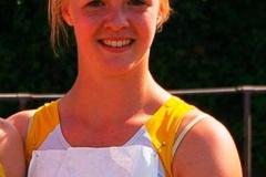 Erfolgreichste Teilnehmerin Anna Tomforde. Sie wurde Bezirksmeisterin über 100m, 100m Hürden, Weitsprung und mit der 4x100m Staffel