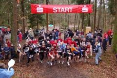 Zi02: Start zum Lauf über die 2550 m-Distanz.