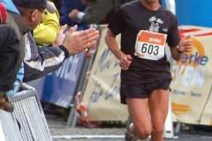 Im Herbst des vergangenen Jahres lief Jörg Herrmann (Nr. 603) auch beim Halbmarathon in Zeven mit.