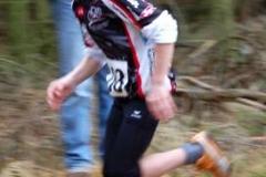 Tetjus Pape lief nach 2000m als Erster über die Ziellinie.