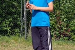 Janik Dohrmann stellte Kreisrekord im Hammerwurf auf
