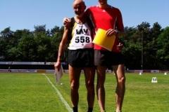 Siegerehrung 400m Männer