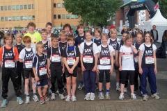 Die jungen Aktiven der LAV-Zeven nahmen auch in diesem Jahr erfolgreich am Lauf Das Zehntel in Hamburg teil.