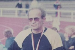 Hans-Wilfried Cordes 1984 in Itzehoe bei der Senioren-DM. Verstarb im Juni 2011