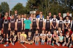 Knapp 30 junge Aktive der LAV Zeven nahmen am Mehrkampfabend auf der Sportanlage an der Kanalstraße teil.