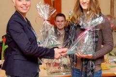 Sparkassenpokalsiegerin 2010 Sarina Holsten