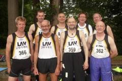 Die Zevener Teilnehmer an den LM-Senioren in Delmenhorst