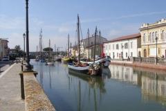 Hafen von Cesenatico